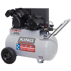 New King 20 Gallon Air Compressor KC-2051H1