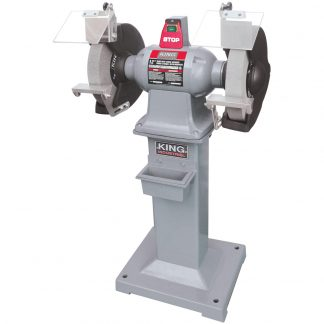 "King 12"" Heavy Duty Bench Grinder"