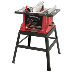 New King 10″ Table Saw With stand KC-5005R