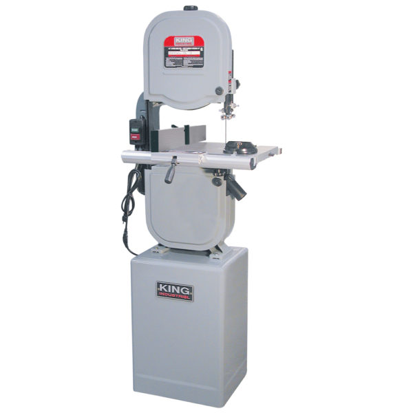"King 14"" Wood Bandsaw with resaw guide"