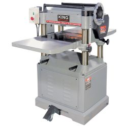 New King 15″ industrial planer with spiral cutterhead KC-390FX