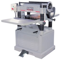 New King 20″ industrial planer with spiral cutterhead KC-525FX