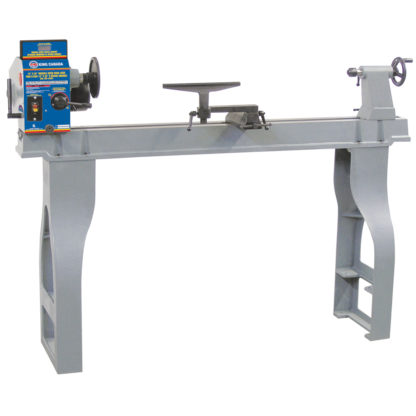 King Variable Speed Wood Lathe with Digital Readout