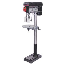 New King 17″ drill press with safety guard KC-118FC-(LS)