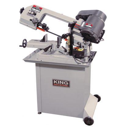 King Dual Swivel Metal Cutting Bandsaw