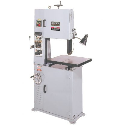"King 18"" Metal Cutting Bandsaw"