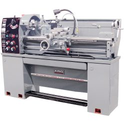 New 14″ x 40″ Gearhead Metal Lathe with Taper Attachment