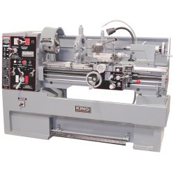 New King 16″ x 40″ High Precision Toolroom Metal Lathe