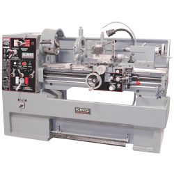 New King 16″ x 40″ High P Metal Lathe with Taper Attachmentrecision Toolroom