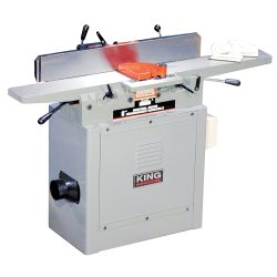 """New King 6"""" industrial jointer with spiral cutterhead KC-75FX"""