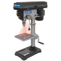 New King 10″ drill press with dual laser guide system KC-110N