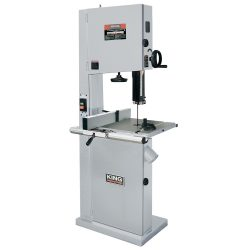 New King 21″ Wood Bandsaw with Resaw Guide