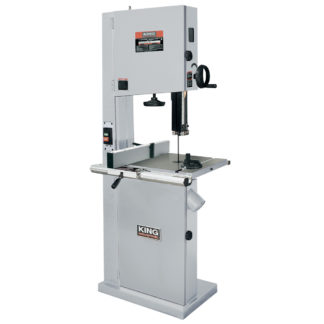 "King 21"" Wood bandsaw WIth Resaw Guide"