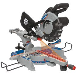 New King 10″ sliding compound Miter Saw with Twin Laser 8380