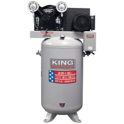 New King High Output 80 Gallon Air Compressor KC-7180V1-MS