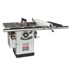 New King 10″ extreme cabinet saw with riving knife blade guard system KC-26FXT/i30/30
