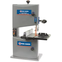 New King 9″ Wood Bandsaw with Laser
