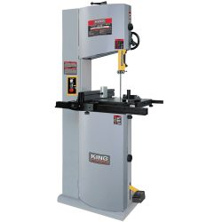 New King 14″ Wood Bandsaw with 12″ Resaw Capacity