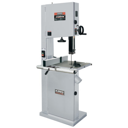 "King 17"" Wood Bandsaw with Resaw guide"
