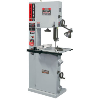 "King 17"" Variable Speed Wood & Metal Cutting Bandsaw"