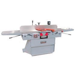 """New King 12"""" industrial jointer with 3 knife cutterhead 220 volt KC-120FX"""