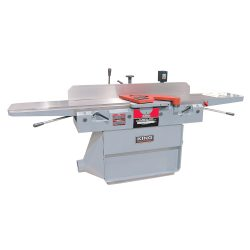"""New King 12"""" Industrial Jointer With 3 Knife Cutterhead 550 Volt KC-120FX-5"""