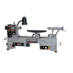 New King 12″ x 18″ Variable Speed Wood Lathe