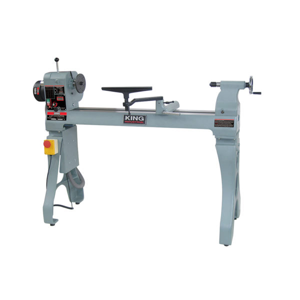 King Wood Lathe With Electronic Variable Speed