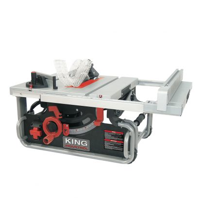 "King 10"" Portable Table saw"