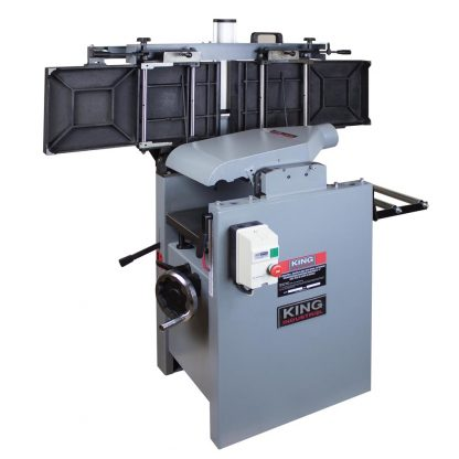 """King 12"""" Industrial Jointer and Planer"""