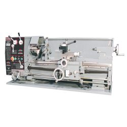 New King 12″ x 36″ Gearhead Metal Lathe with Taper Attachment