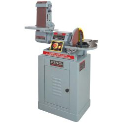 New King 6″ x 48″ belt and 12″ disc sander with built in dust collector KC-790FX-DC