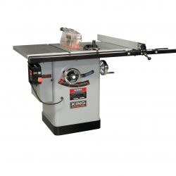 "New King 10"" CABINET TABLE SAW KC-10KX/U50"