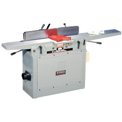 New King 8″ industrial jointer with 3 knife cutterhead KC-80FX