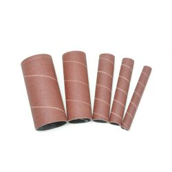 New Rikon Spindle Sanding Sleeves 100 Grit, Pack of 5 ( 1 each, 1/2″, 3/4, 1″, 1 1/2″, and 2″) 50-45100