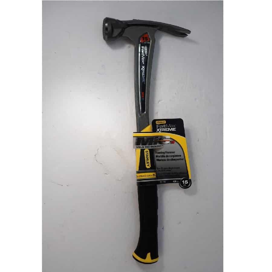 New Stanley Fatmax Xtreme 15oz WELDED Framing Hammer. 51-124 ...