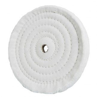 """Rikon 6"""" Spiral Sewn Replacement Buffing Wheel"""