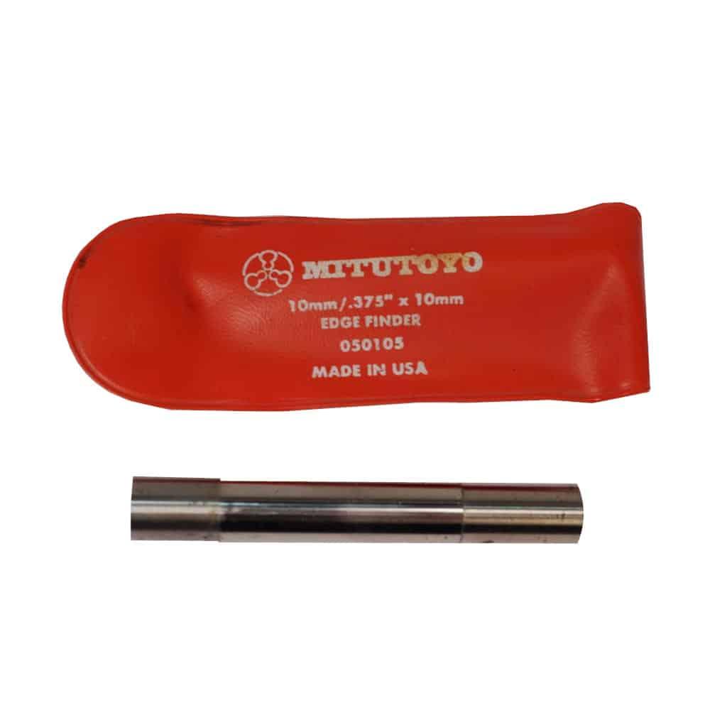 "New Mitutoyo 10mm//.375/"" x 10mm Toolmaker Milling Machine Edge Finder 050105 USA"