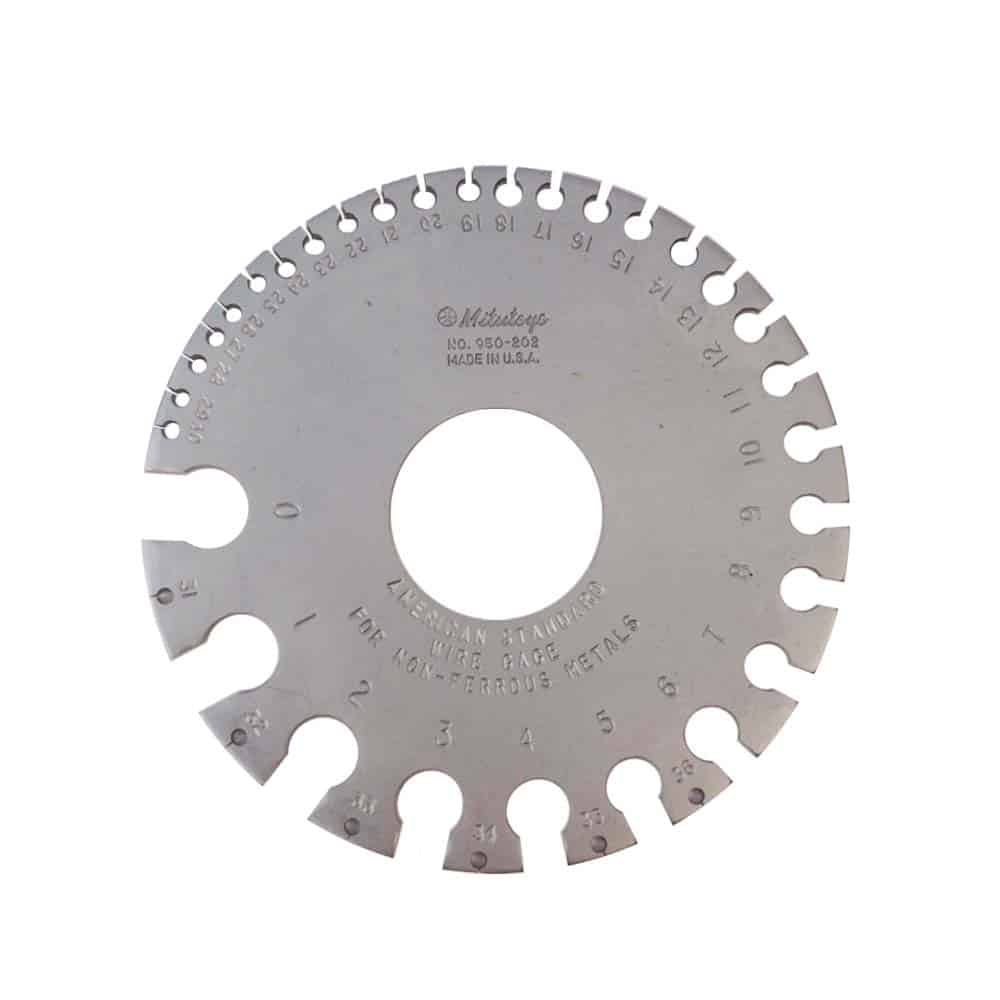 New mitutoyo american standard wire gage 0 36 gage for non ferrous new mitutoyo american standard wire gage 0 36 gage for non ferrous 950 202 greentooth Choice Image